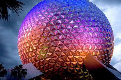 Photograph - Spaceship Earth by Greg Fortier