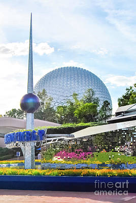 Photograph - Spaceship Earth 2 by Pamela Williams