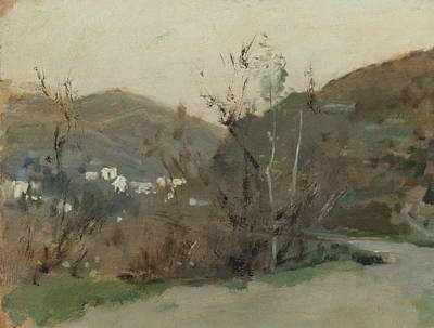 Painting - Spanish Landscape by John Singer Sargent