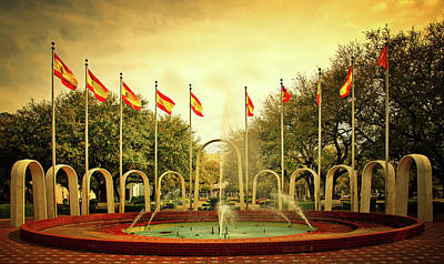 Photograph - Spanish Park - Mobile Alabama by Mountain Dreams