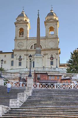 Rome Photograph - spanish steps in Rome by Joana Kruse