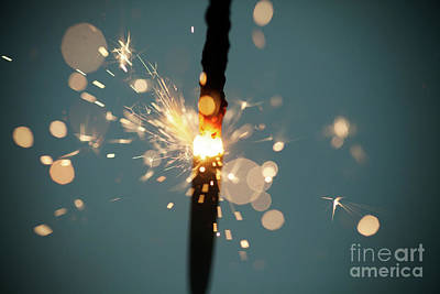 Photograph - Sparkler by Kati Molin