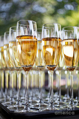 Banquet Photograph - Sparkling Wine by Kati Molin