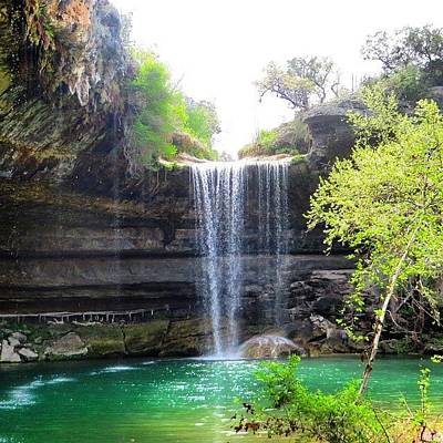 Nature_shooters Photograph - Spent The Day At Hamilton Pool. Yes by Austin Tuxedo Cat