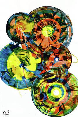 Painting - Sphere Series 890.123111 by Kris Haas