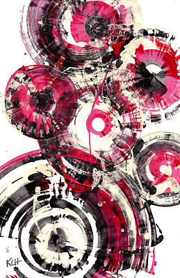 Painting - Sphere Series 1001.042412 by Kris Haas