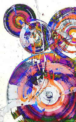 Painting - Spherical Joy Series 46.040511invfaddiff by Kris Haas