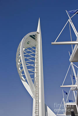 Photograph - Spinnaker Tower by Terri Waters