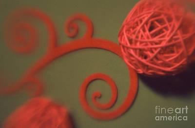 Photograph - Spiral Ball With Felt by Tamarra Tamarra