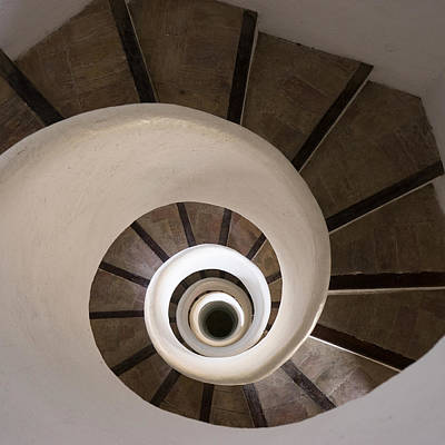 Photograph - Spiral Staircase Santa Catalina by For Ninety One Days