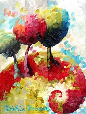 Cubism Painting - Spirale by Beatrice BEDEUR