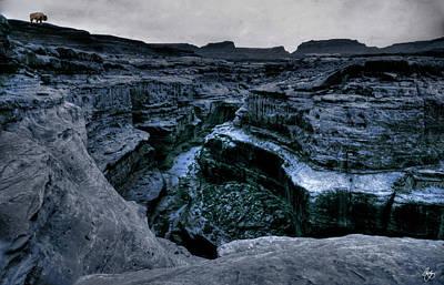 Photograph - Spirit Buffalo At Canyon Dechelly by Wayne King