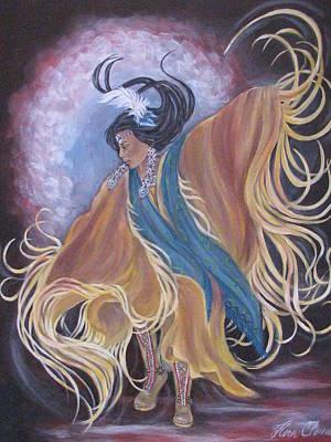 Spirit Dance Original by Radha Flora Cloud