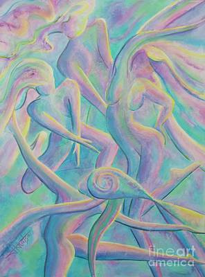 Painting - Spirit Dance by Jaswant Khalsa