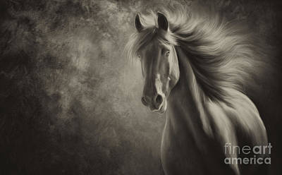 Spirit Print by Patty Hallman