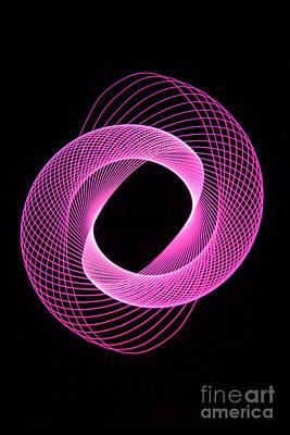 Photograph - Spirograph Spiral 06 by Brian Roscorla