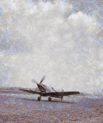 Spitfire Painting - Spitfire by Esoterica Art Agency