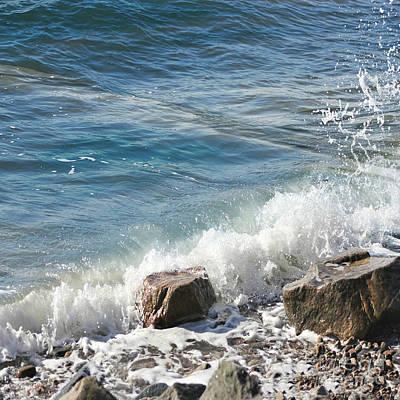 Photograph - Splash by Judy Palkimas