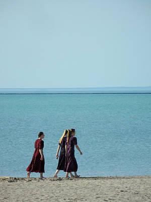 Photograph - Splendid Stroll by Cyryn Fyrcyd