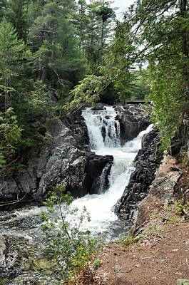 Photograph - Split Rock Falls. by David Seguin