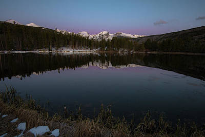 Sprague Lake Art Print