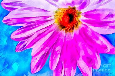 Spread Joy Art Print by Krissy Katsimbras