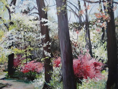 Painting - Spring At Maymont by Sheila Holland