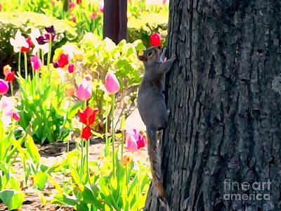 Digital Art - Spring Beauty by Ed Weidman