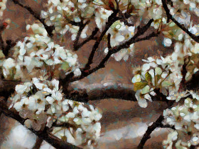 Painting - Spring Blossoms by Ann Powell