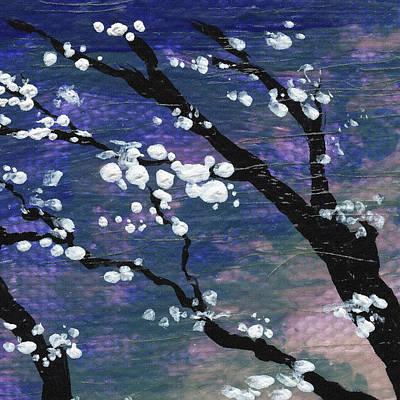 Sakura Painting - Spring Blossoms by Irina Sztukowski