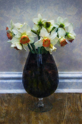 Photograph - Spring Daffodils by Ian Mitchell