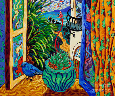Spanish Villa Painting - Spring Equinox by Cathy Carey