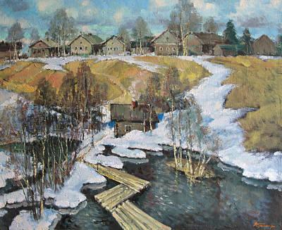 Spring Flood Original by Mark Kremer