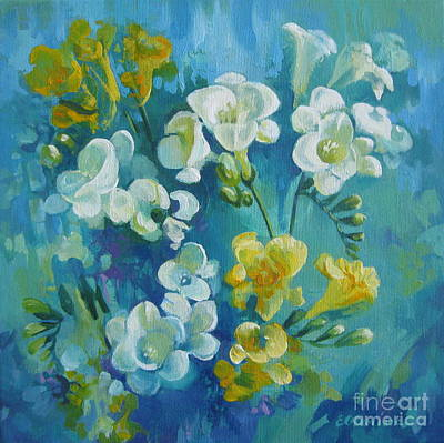 Painting - Spring Fragrances by Elena Oleniuc