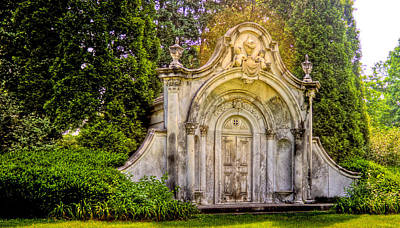 Photograph - Spring Grove Mausoleum by Jonny D