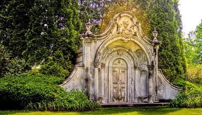 Photograph - Spring Grove Mausoleum by Jonny D
