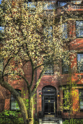 Photograph - Spring In Boston - Back Bay by Joann Vitali