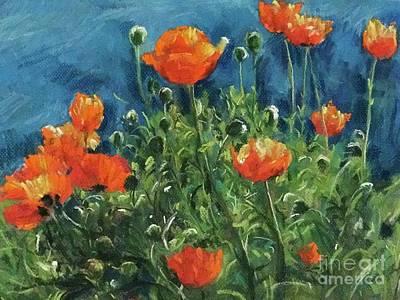 Painting - Spring  by Jieming Wang