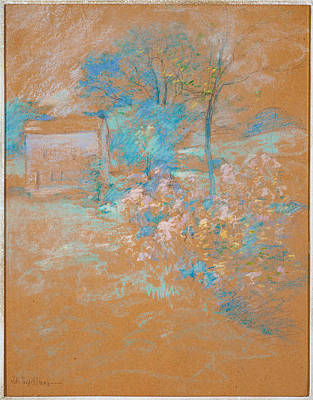 Drawing - Spring by John Henry Twachtman