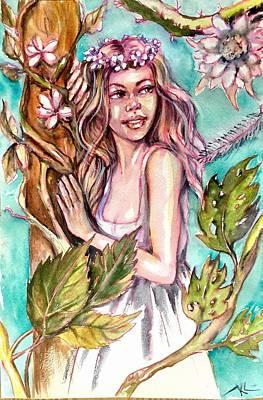 Painting - Spring by Katerina Kovatcheva