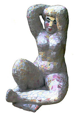 Sculpture - Spring by Katia Weyher
