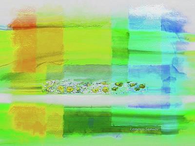 Mixed Media - Spring by Lenore Senior