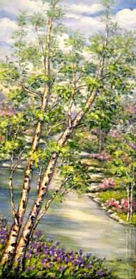 Painting - Spring by Mirjana Gotovac