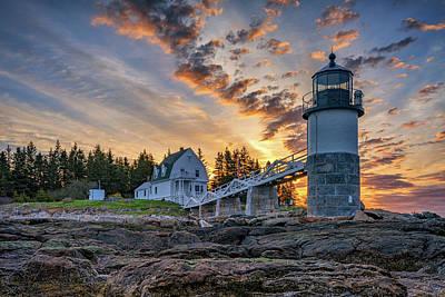 Photograph - Spring Morning At Marshall Point by Rick Berk