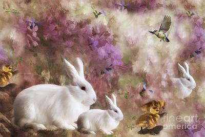 Digital Art - Spring Renewel by Elaine Manley