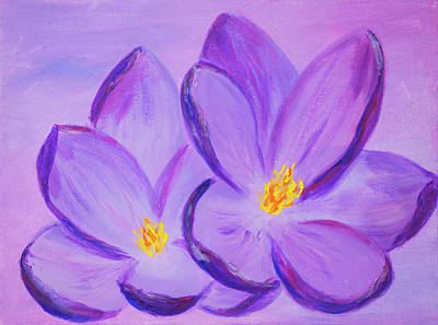 Painting - Spring Romance by Iryna Goodall