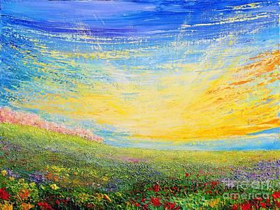 Painting - Spring by Teresa Wegrzyn