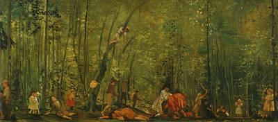 Painting - Springtime Of Delight by Arthur Bowen Davies