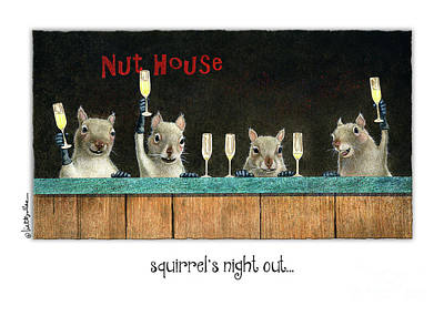 - Squirrel's Night Out... by Will Bullas