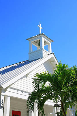 Photograph - St. Andrews Episcopal Church In Boca Grande Fl by Chris Smith